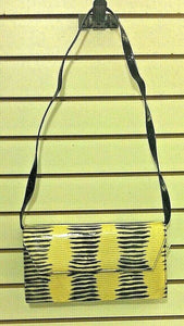 Women's Yellow & Black Clutch Bag by Paul Melian (P120)