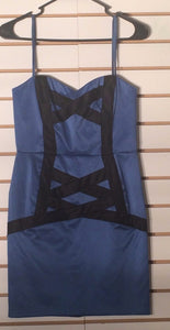 Women's Royal Blue Strapless Dress Size 2 by BCBGeneration (01767)