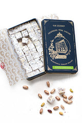 Traditional Turkish Delight with Double Roasted Pistachio (450 g)