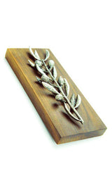 DECORATIVE BRASS OLIVE BRANCH