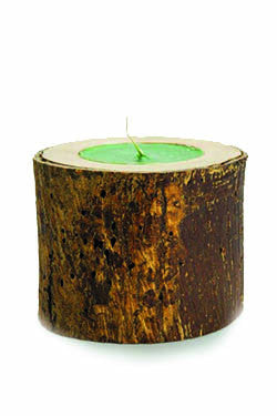 OLIVE WOOD CANDLE