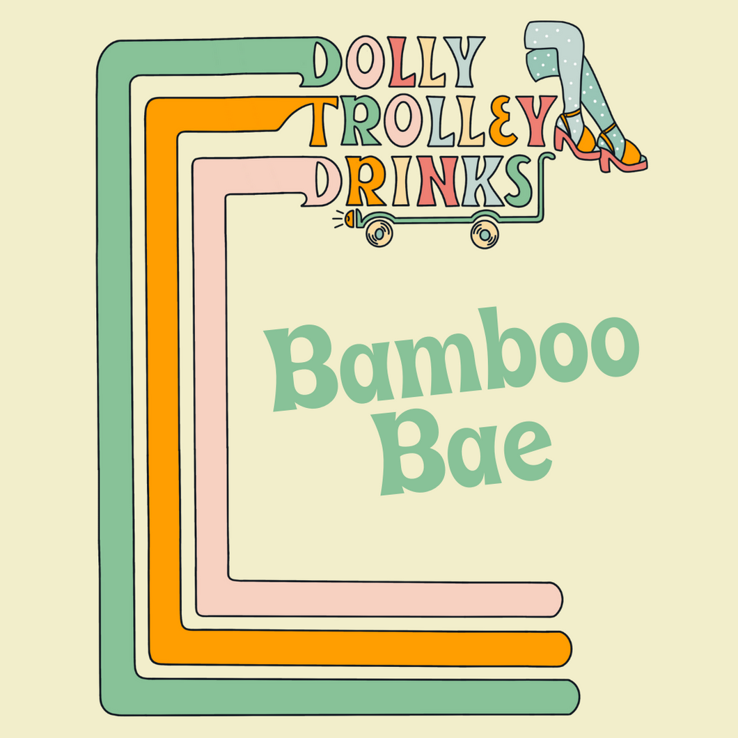 Bamboo Bae Cocktail Kit Label
