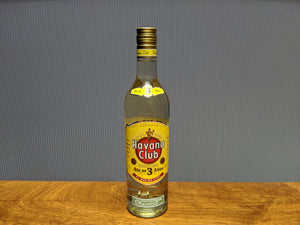 Havana Club 3 Year Old Rum (750ml - 40% ABV)