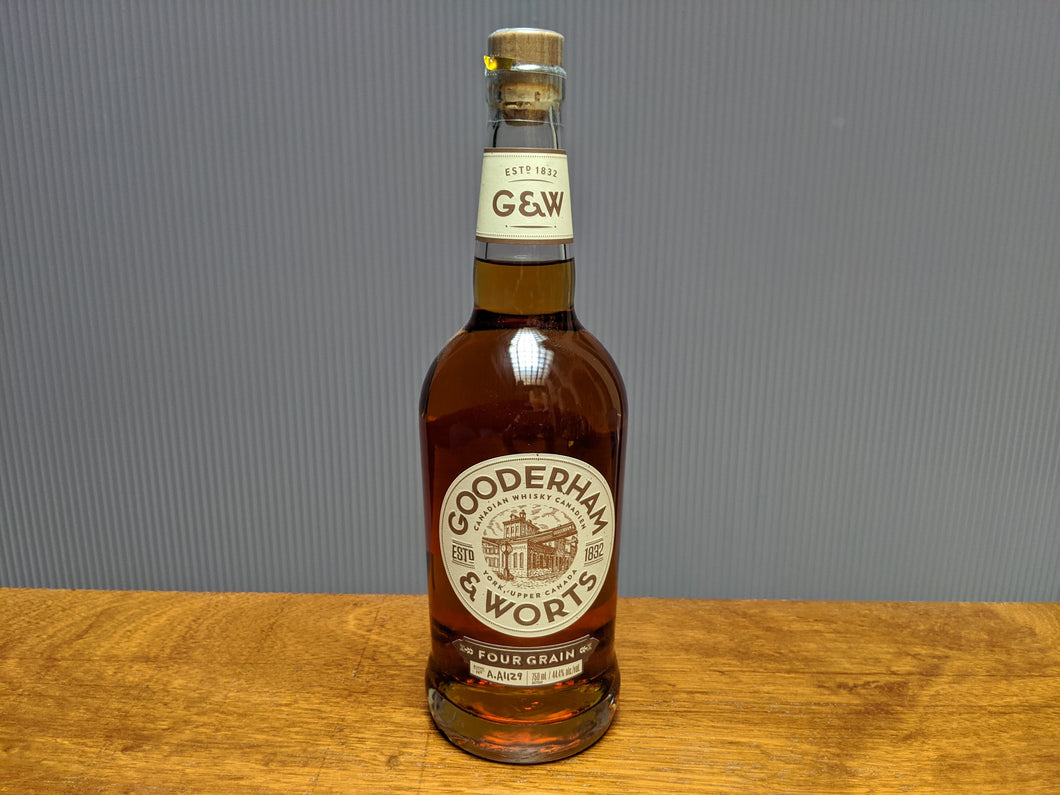 Gooderam & Worts Canadian Whisky (750ml - 44.4% ABV)