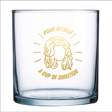 Load image into Gallery viewer, Cup of Ambition Rocks Glass (Set of 2)