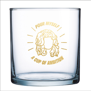 Cup of Ambition Rocks Glass (Set of 2)