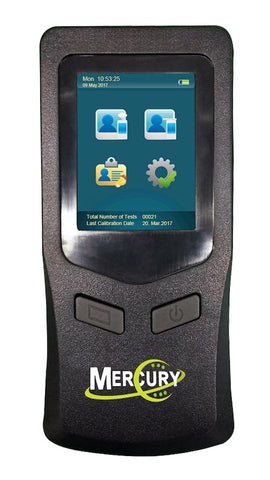 Alcovisor Mercury Alcohol Breathalyser (Includes software & USB cable)
