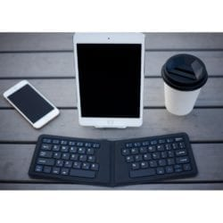 KANEX MULTISYNC FOLDABLE MINI TRAVEL KEYBOARD – BLACK