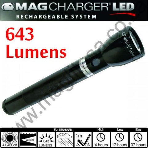 Mag-charger LED Rechargeable Torch