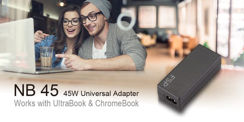 FSP NB 45W UNIVERSAL ULTRABOOK ADAPTER