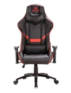 REDRAGON COEUS GAMING CHAIR BLACK AND RED