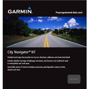 Garmin City Navigator Middle East NT and Northern Africa NT