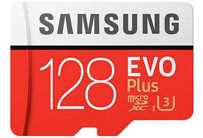 Samsung EVO PLUS Micro SD Memory Card 128GB SDXC with Adapter