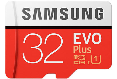 Samsung EVO PLUS Micro SD Memory Card 32GB SDHC with Adpater