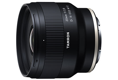 Tamron F050 20mm f/2.8 Di III OSD M1:2 Lens for Sony E