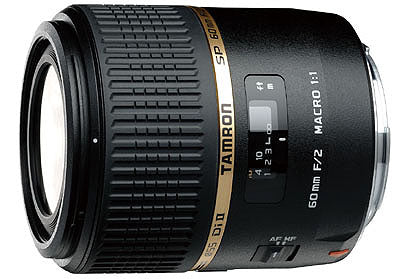 Tamron G005 SP 60mm f/2 Macro 1:1 Di II Lens for Canon