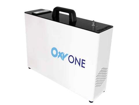 Oxy one portable sanitiser.