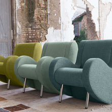 Load image into Gallery viewer, Atina lounge modern Italian armchair by Adrenalina