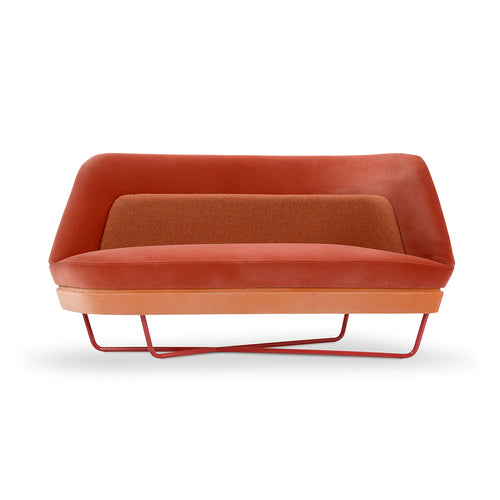 Bixib ultra modern funky  Upholstered Sofa by Adrenalina by Luca Alessandrini