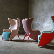 Load image into Gallery viewer, Gea Armchair with wings  by Adrenalina - by Giovanni Tommaso  Garattoni