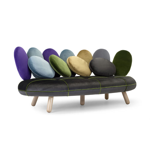 Jelly  3 seater Italian 2-P sofa by Adrenalina