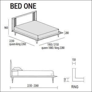 Bed one bed