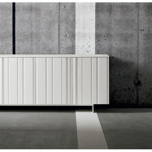 Design modern sideboard in carved surface