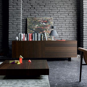Fashion I wooden sideboard by Dall'Agnese