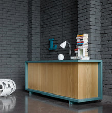 Load image into Gallery viewer, Frame 2 knotted oak door sideboard by Dall'Agnese - myitalianliving