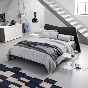 Neko Upholstered Double Bed by Dall'Agnese