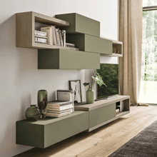 Load image into Gallery viewer, Wall mounted Day-10 TV media unit by Orme - myitalianliving