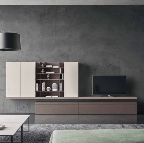Freestanding base Day-11 TV media unit by Orme - myitalianliving