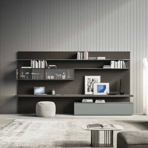 Day-17 back-panelled TV media unit by Orme - myitalianliving