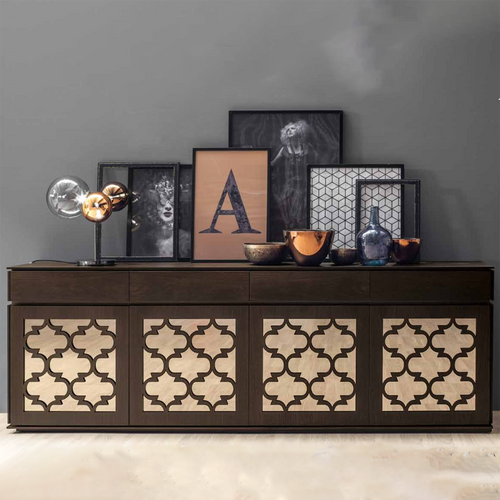 Marrakesh 3 doors sideboards by Tonin Casa