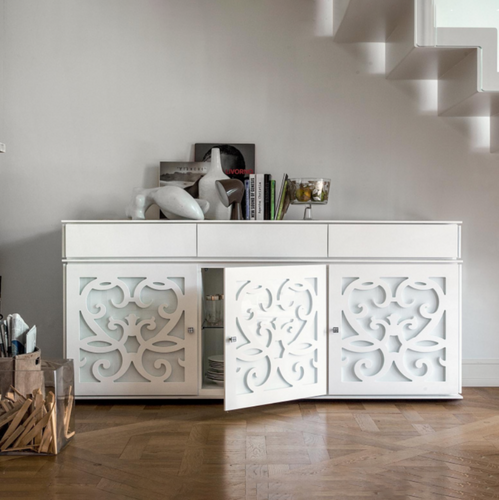 Paris 3 doors sideboard by Tonin Casa