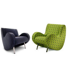 Load image into Gallery viewer, 1-P lounge funky Italian armchair