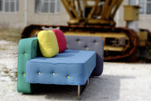 Load image into Gallery viewer, Chew unique Italian 2 or 3 seater sofa by Adrenalina