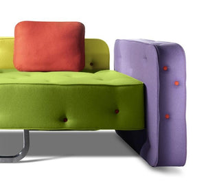 Funky unique Italian 2/3 seater sofa Chew by Adrenalina