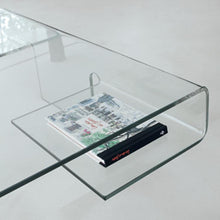 Load image into Gallery viewer, Aries curved glass coffee table