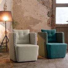 Load image into Gallery viewer, Modern comfortable Italian armchair Artibella