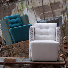 Load image into Gallery viewer, Modern comfortable Italian armchair Artibella by Domingo