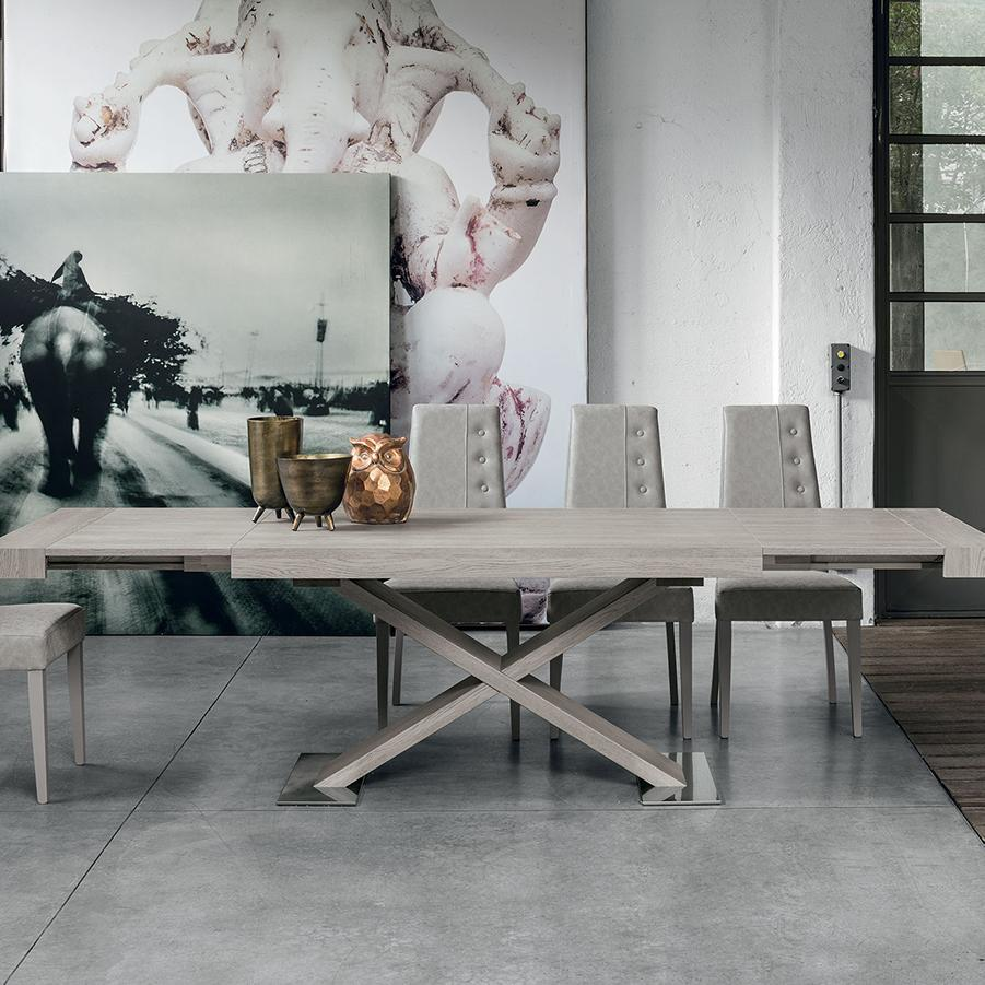 Asterion laminate extending dining table