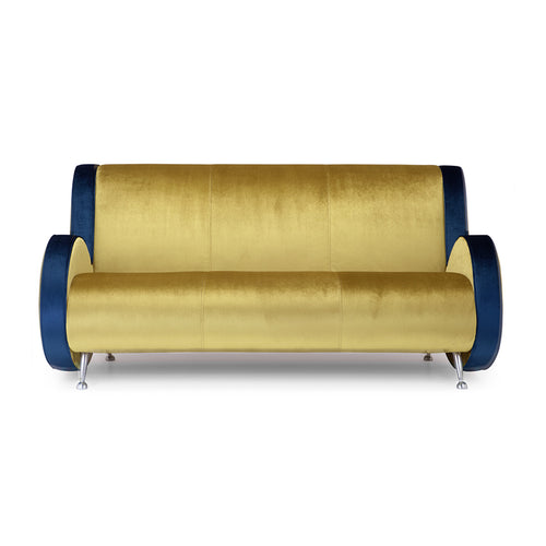 Ata 2 Seater Upholstered Sofa by Adrenalina designed by Simone Micheli