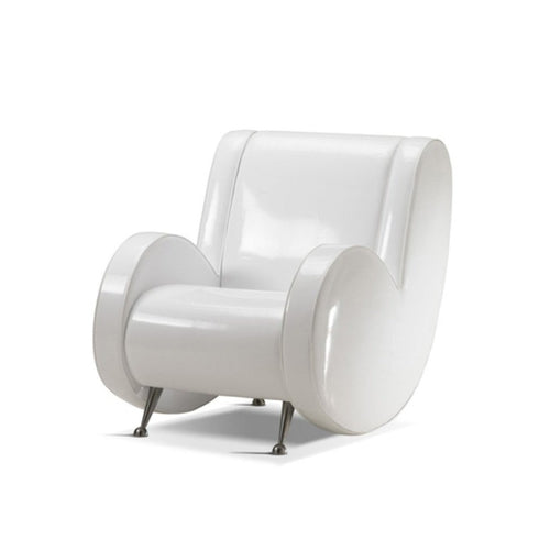 Ata Upholstered Armchair by Adrenalina by Simone Micheli