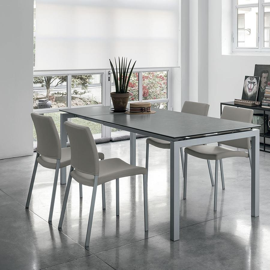 Auriga 140 extendable dining table by Target Furniture