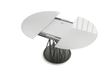 Load image into Gallery viewer, Bamboo extending round dining table by Sedit