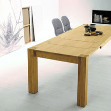 Load image into Gallery viewer, Bio extending veneered oak dining table
