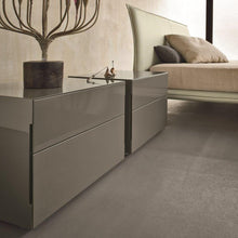 Load image into Gallery viewer, Blade night stand bedside cabinet made of wood two drawers Dall'Agnese - myitalianliving