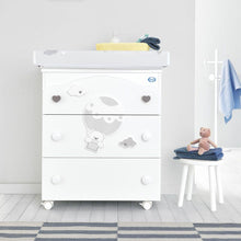 Load image into Gallery viewer, baby bath with 3 drawers by Pali - myitalianliving