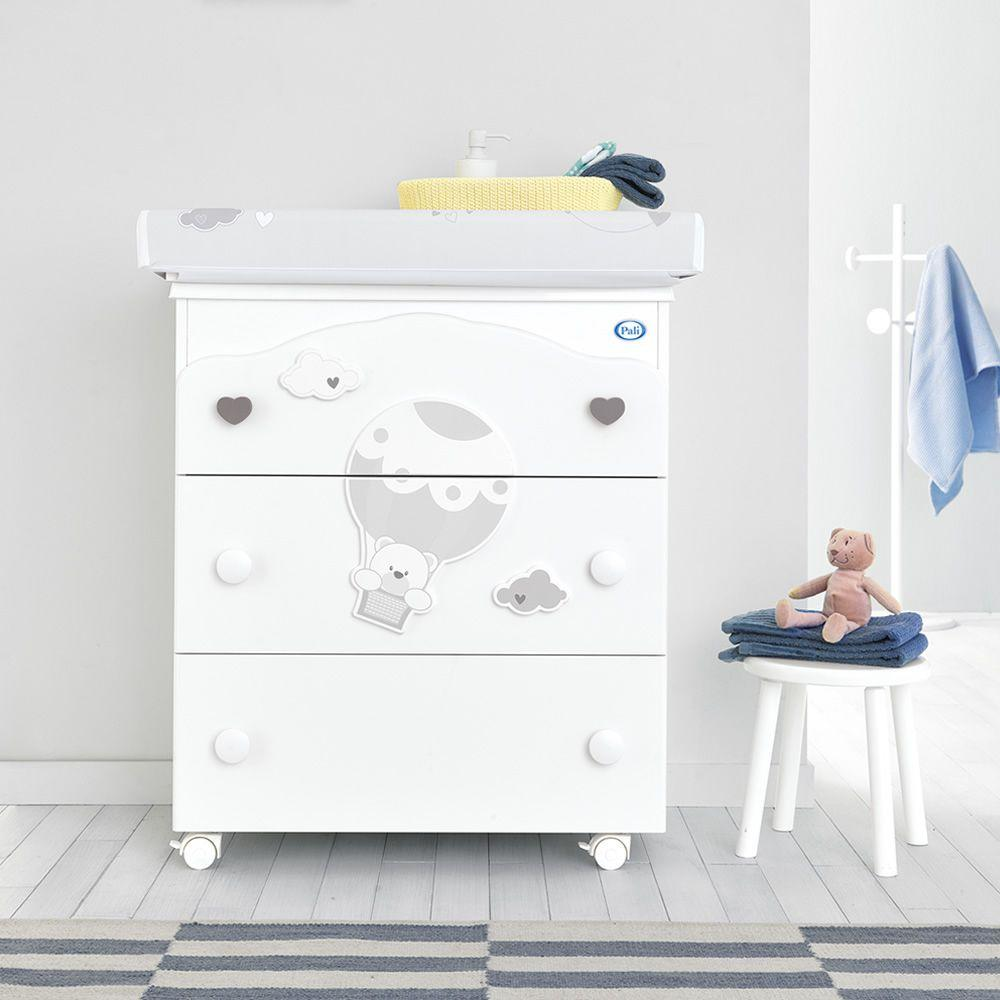 baby bath with 3 drawers by Pali - myitalianliving